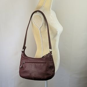Stone Mountain Brown Leather Shoulder Bag